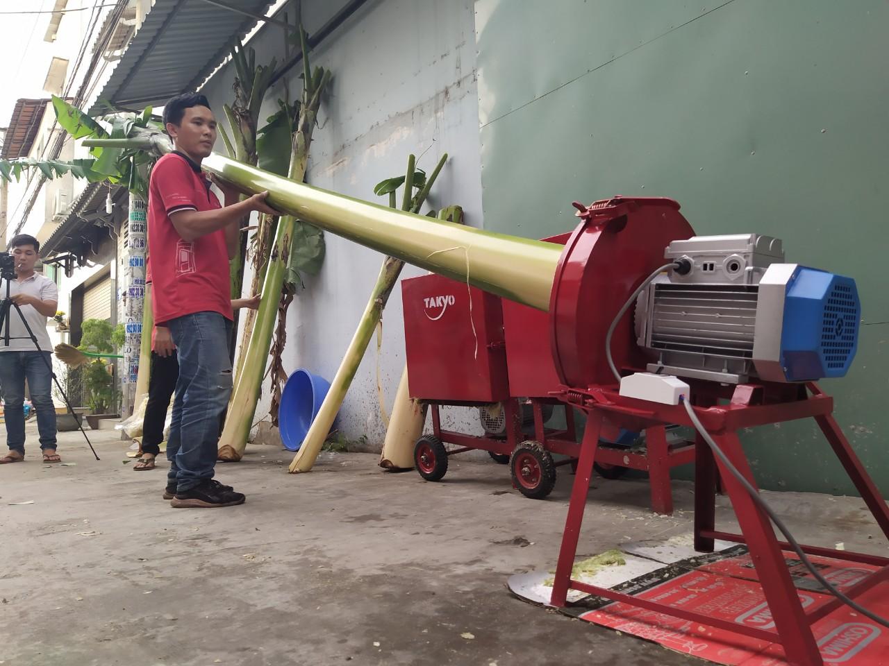 Công dụng máy băm chuối Takyo-Tk1500