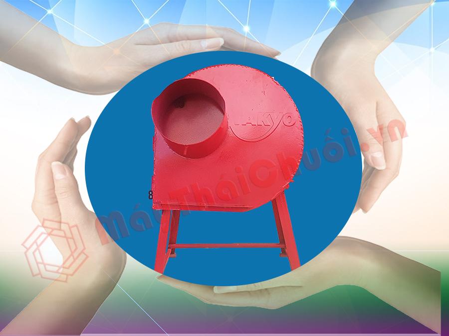 Nhiều gia đình lựa chọn máy băm chuối takyo-tk1500