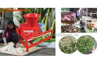 Máy băm chuối Takyo TK3000 có thể thái rau củ quả tại Bến Tre