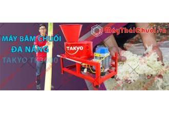 Chăn nuôi gà vịt hiệu quả với dòng máy băm chuối đa năng Takyo TK3000