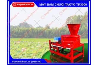 Máy băm chuối Takyo TK3000 tại Đồng Tháp có gì đặc biệt?