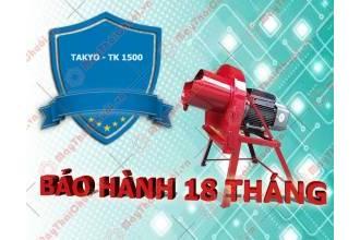 Chính sách bảo hành của máy băm chuối Takyo TK1500